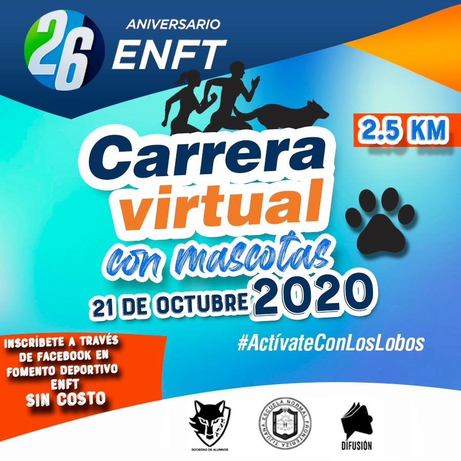 Convocatoria de la Carrera Virtual ENFT.
