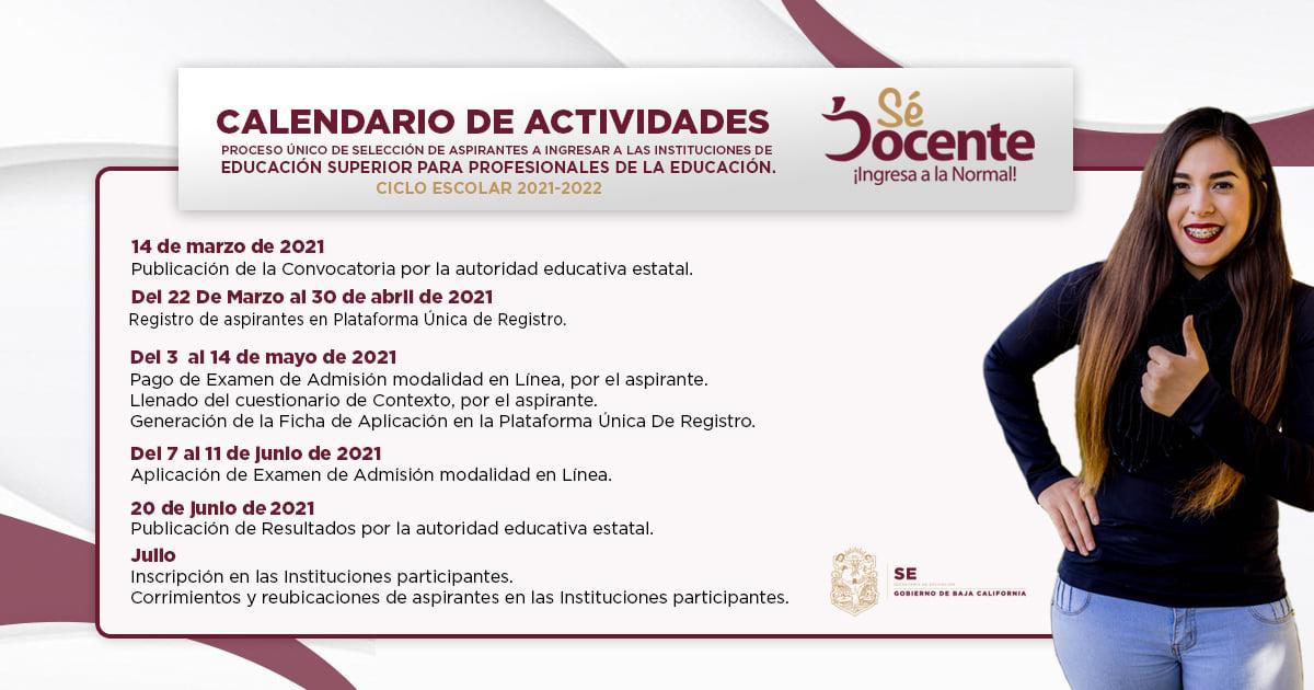Convocatoria Proceso Único de Selección de Aspirantes a Ingresar a las Instituciones de Educación Superior para Profesionales de la Educación