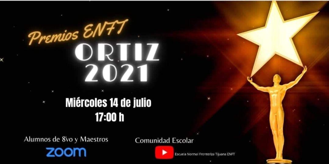 Invita la Sociedad de Alumnos a ver los Premios Ortiz 2021
