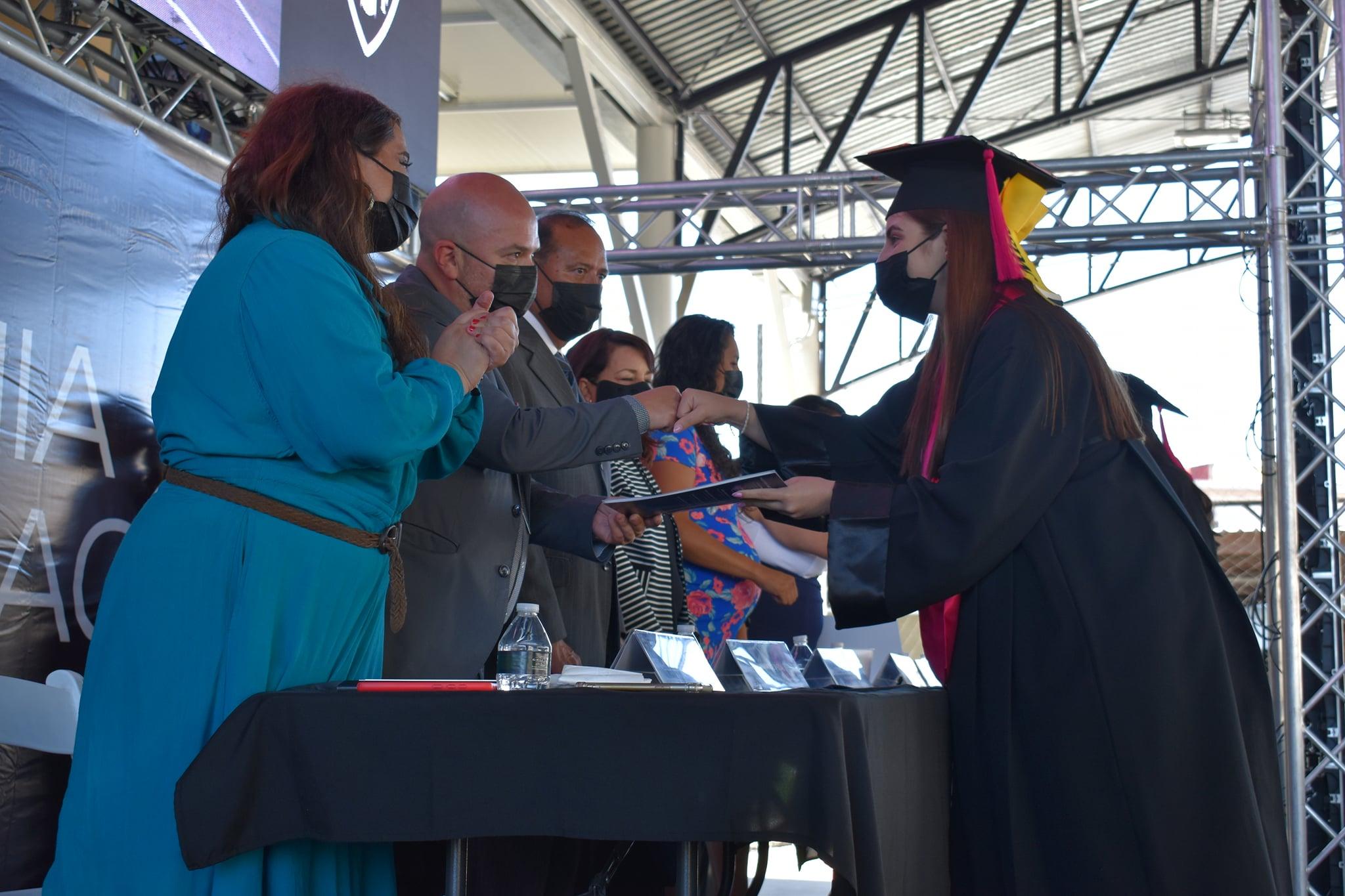 Ceremonia  de Graduación  ENFT de la Generación 2017-2021