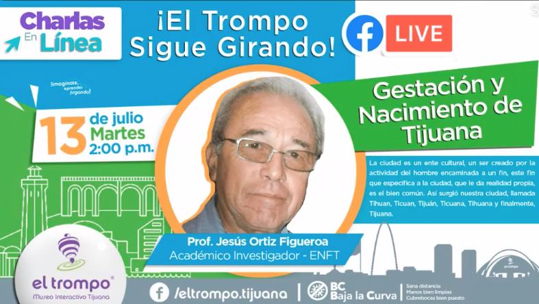 Invitación a la charla del Mtro. Jesús Ortiz Figueroa.